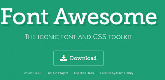 zblogPHP站点集成使用Font Awesome图标字体教程 ZBlog 第1张